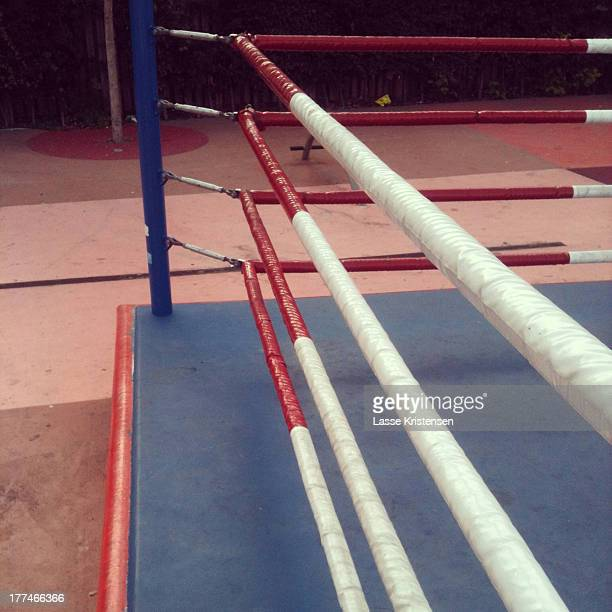 Outdoor boxing ring