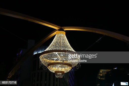 Worlds Largest Outdoor Chandelier At The Playhouse Square ...