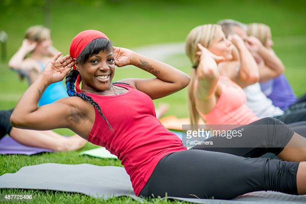 Outdoor Exercise Classes