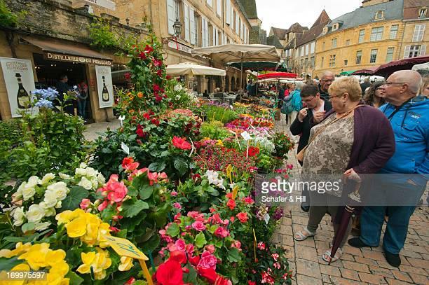 Outdoor Flower Market, France