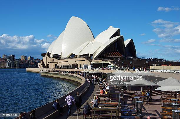 Outdoor Forecourt Sydney Opera House Sydney New South Wales Australia