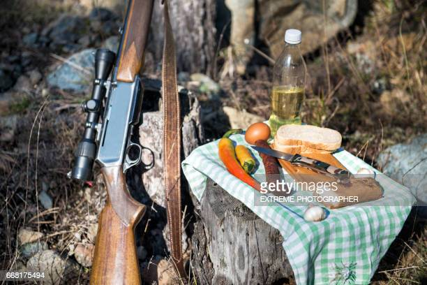 Outdoor meal