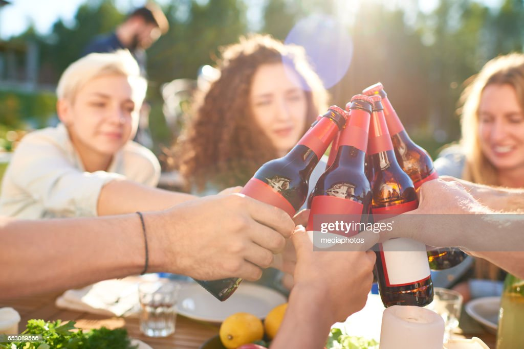 Outdoor party : Foto stock