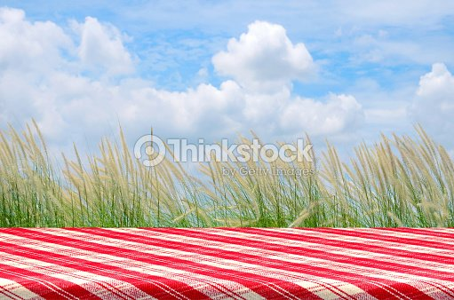 outdoor picnic background with picnic table stock photo thinkstock