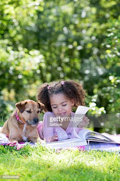 Im Freien lesen