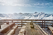 The Jakobshorn is a very well-known ski area above Davos in Switzerland. Davos itself is known as a winter holiday destination and above all the annual World Economic Forum (WEF) takes place here.
