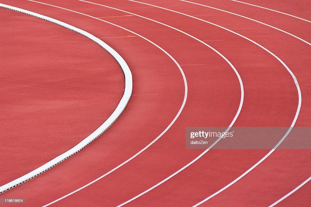 Outdoor running tracks : Stock Photo