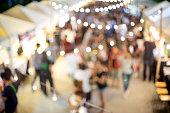 outdoor walking market place in festival sale fair