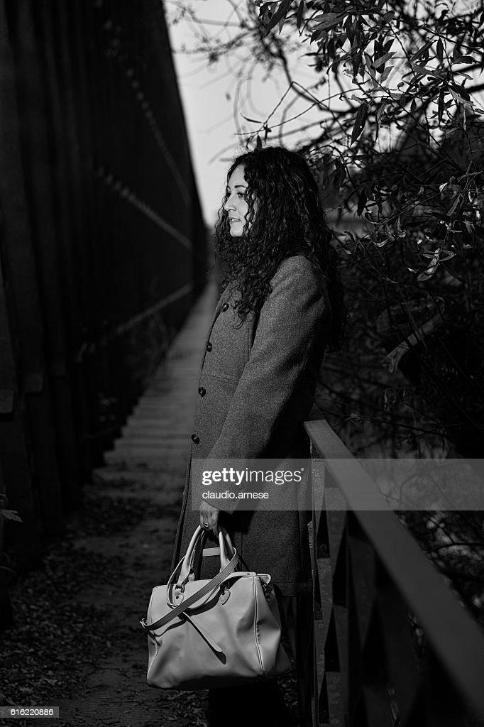 Outdoor Ritratto di donna : Foto stock