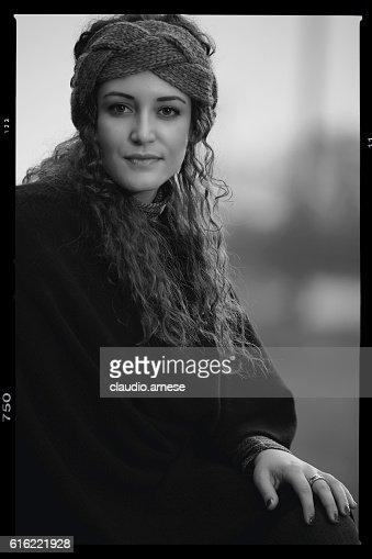 Outdoor Woman Portrait : Stock Photo