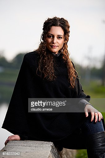 Outdoor Woman Portrait : Stockfoto