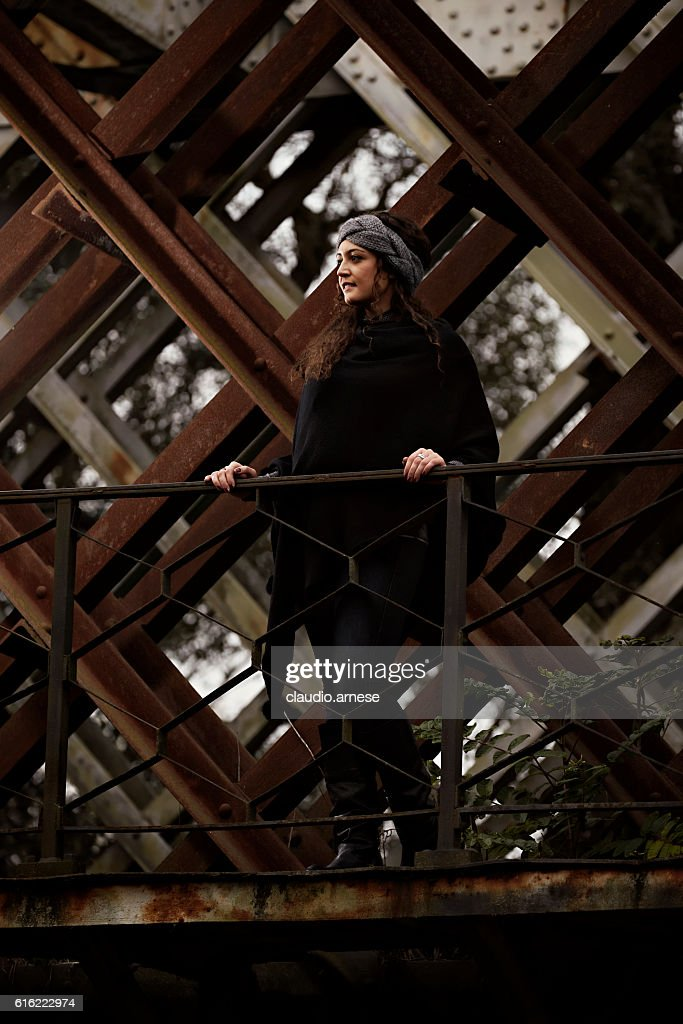 Outdoor Woman Portrait : Stock Photo