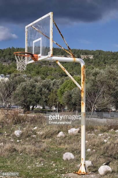 Panneau de panier de basket photos et images de collection getty images - Panneau basket exterieur ...