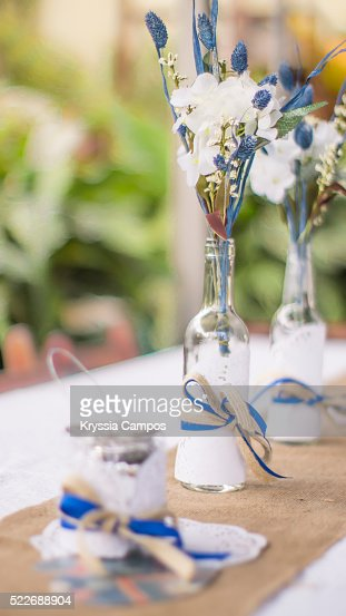 Outdoors party decoration