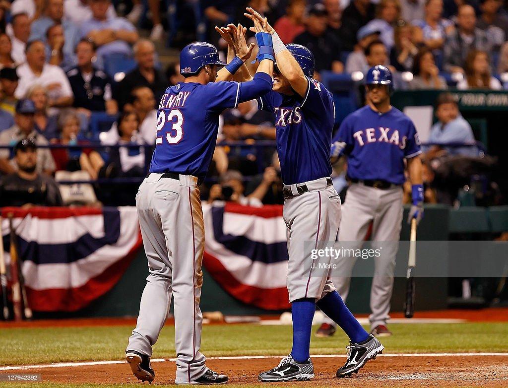 Texas Rangers v Tampa Bay Rays - Game 3