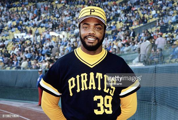 Outfielder Dave Parker of the Pittsburgh Pirates