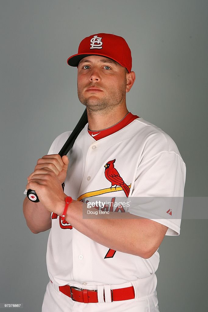 Outfielder Matt Holliday #7 of the St. Louis Cardinals during photo day at Roger Dean Stadium on March 1, 2010 in Jupiter, Florida.