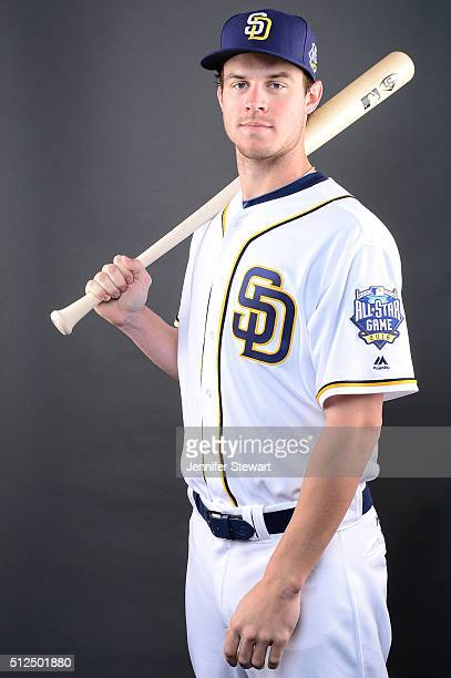 Outfielder Wil Myers of the San Diego Padres poses for a portrait during spring training photo day at Peoria Sports Complex on February 26 2016 in...