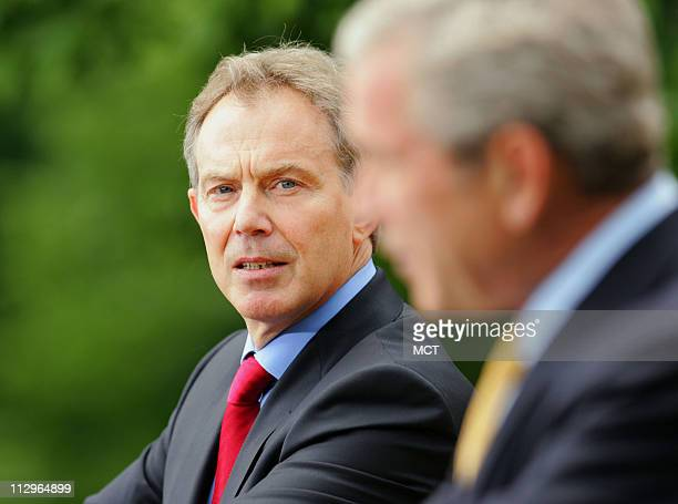 george bush tony blair and multiculturalism The chilcot report has shed light on the correspondence between british prime minister tony blair and american president george bush prior to the iraq war.
