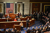 Outgoing Speaker John Boehner delivers his resignation speech in the House Chamber of the US Capitol on Thursday October 2015 in Washington DC