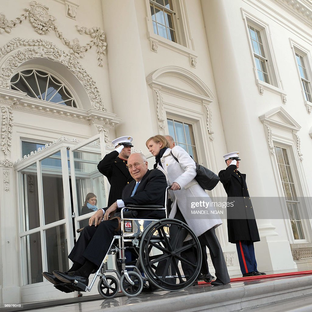 dick cheney in wheelchair