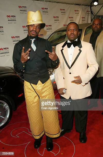 Outkast at the 2002 GQ 'Men of The Year Awards' at The Hammerstein Ballroom in New York City October 16 2002 Photo by Evan Agostini/Getty Images