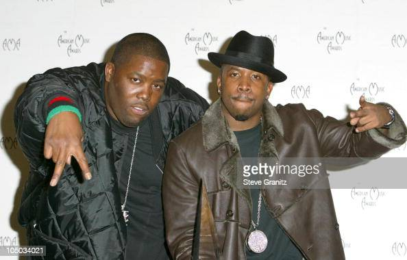 Outkast during The 30th Annual American Music Awards Press Room at Shrine Auditorium in Los Angeles California United States