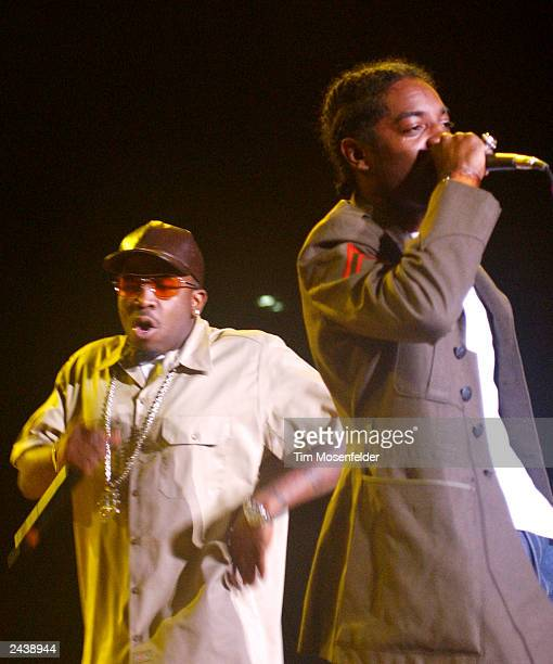 Outkast performing at the Smokin Grooves Tour 2002 at Shoreline Amphitheater in Mountain View CA on July 18th 2002 Photo by Tim Mosenfelder/Getty...