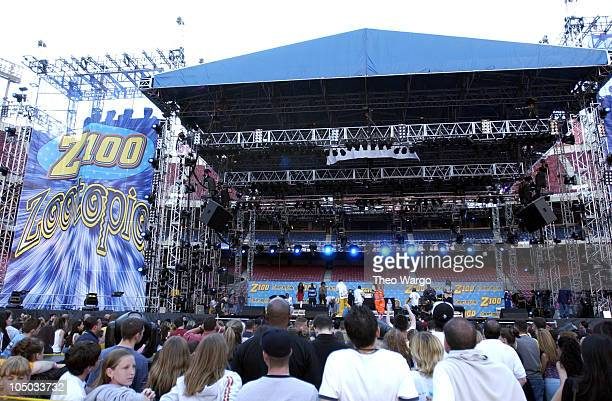 OutKast performs during Z100's Zootopia 2002 Show at Giants Stadium in East Rutherford New Jersey United States