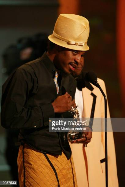Outkast received an award for Band of the Year at the 2002 GQ Men of The Year Awards The event was held at the Hammerstein Ballroom in New York City...