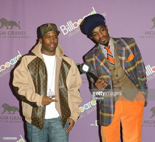 Outkast with the award for Digital Track of the Year