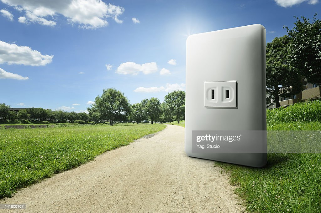 Outlet,the outside : Stock Photo