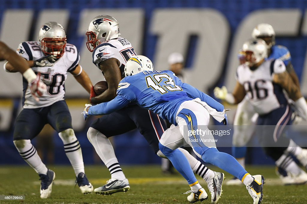 New England Patriots v San Diego Chargers