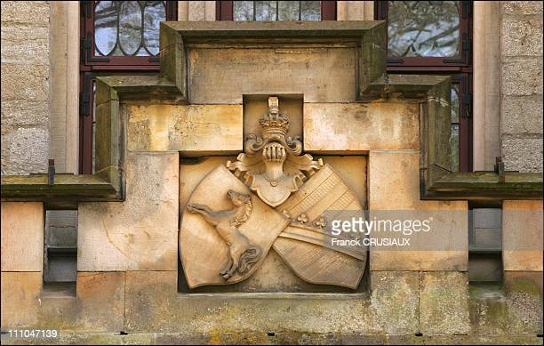 Outside Marienburg castle Coat of arms of Hanover family The Marienburg Castle near Hanover Germany will be the scene of an exceptional international...