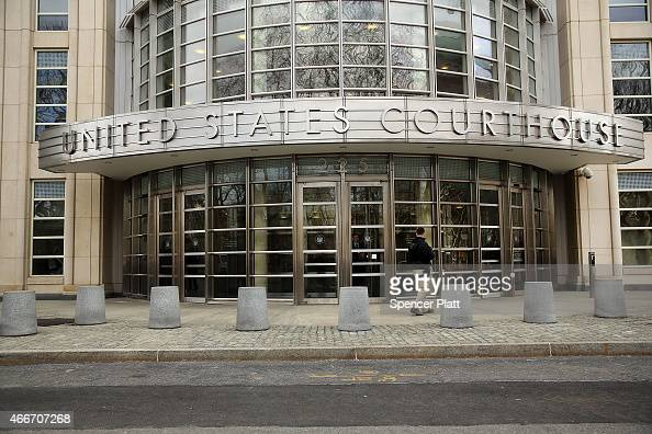 Outside of a US Federal court during the arraignment of Tairod Pugh a former US Air Force mechanic accused of attempting to join the terrorist...