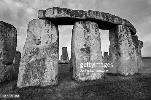 Outside Stonehenge... looking in.