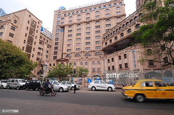 Outside view of Head Office of State Bank of India on March 27 2015 in Kolkata India