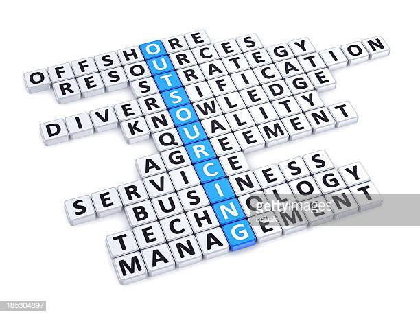 Outsourcing crossword