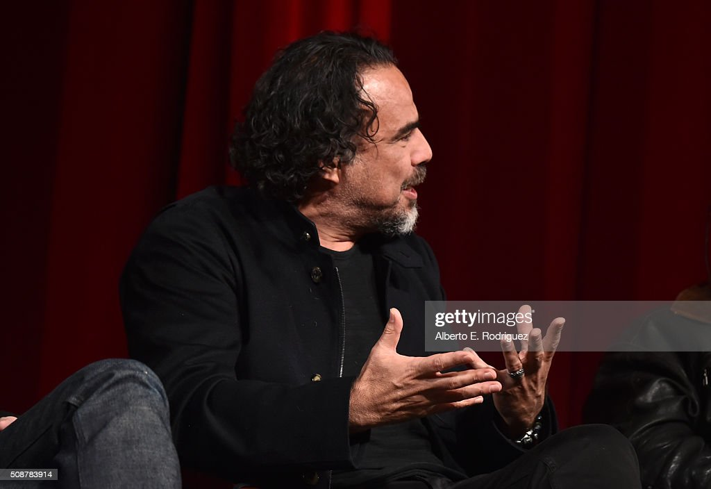 Outstanding Directorial Achievement in Feature Film nominee Alejandro G. Inarritu speaks onstage at the 68th Annual Directors Guild Of America Awards Feature Film Symposium at Directors Guild of America on February 6, 2016 in Los Angeles, California.