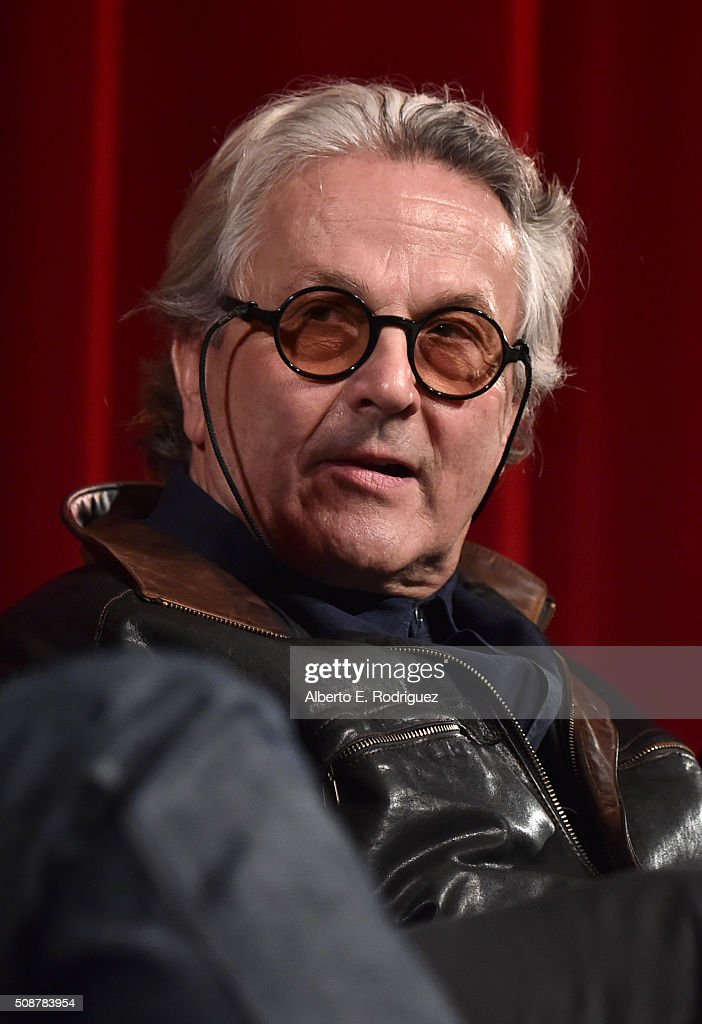Outstanding Directorial Achievement in Feature Film nominee <a gi-track='captionPersonalityLinkClicked' href=/galleries/search?phrase=George+Miller+-+Film+Director&family=editorial&specificpeople=13488524 ng-click='$event.stopPropagation()'>George Miller</a> speaks onstage at the 68th Annual Directors Guild Of America Awards Feature Film Symposium at Directors Guild of America on February 6, 2016 in Los Angeles, California.