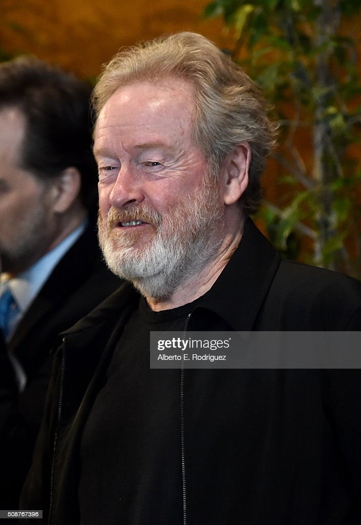 Outstanding Directorial Achievement in Feature Film nominee <a gi-track='captionPersonalityLinkClicked' href=/galleries/search?phrase=Ridley+Scott&family=editorial&specificpeople=215470 ng-click='$event.stopPropagation()'>Ridley Scott</a> attends the 68th Annual Directors Guild Of America Awards Feature Film Symposium at Directors Guild of America on February 6, 2016 in Los Angeles, California.