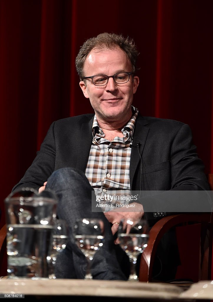 Outstanding Directorial Achievement in Feature Film nominee Tom McCarthy speaks onstage at the 68th Annual Directors Guild Of America Awards Feature Film Symposium at Directors Guild of America on February 6, 2016 in Los Angeles, California.