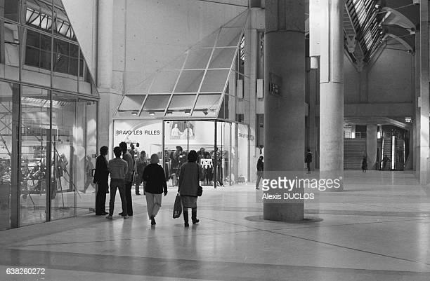 Tranche stock photos and pictures getty images - Les halles paris ouverture ...