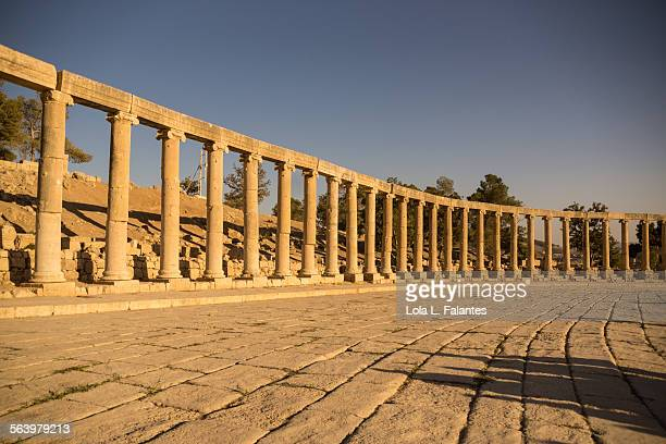 Oval forum, Jerash