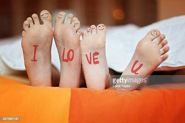 I ove you feet