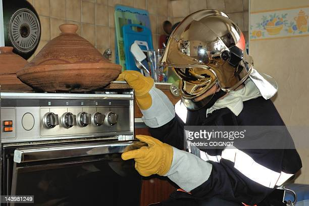 Oven Firefighter