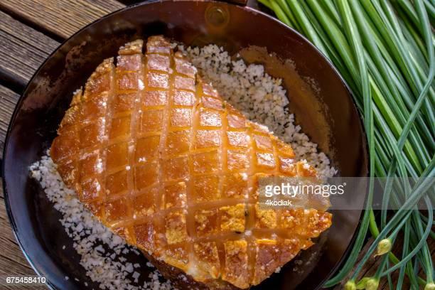 Panceta de cerdo al horno