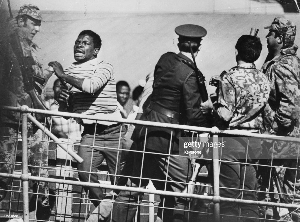 Over 100 people were killed and more than 1000 injured in South Africa following antiapartheid protests in Soweto near Johannesburgh