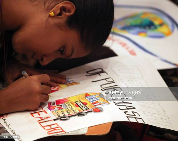 Over 200 children including cancer patients participated in drawing competition along with Cancer Patients Aid Association and MIG club Bandra on...