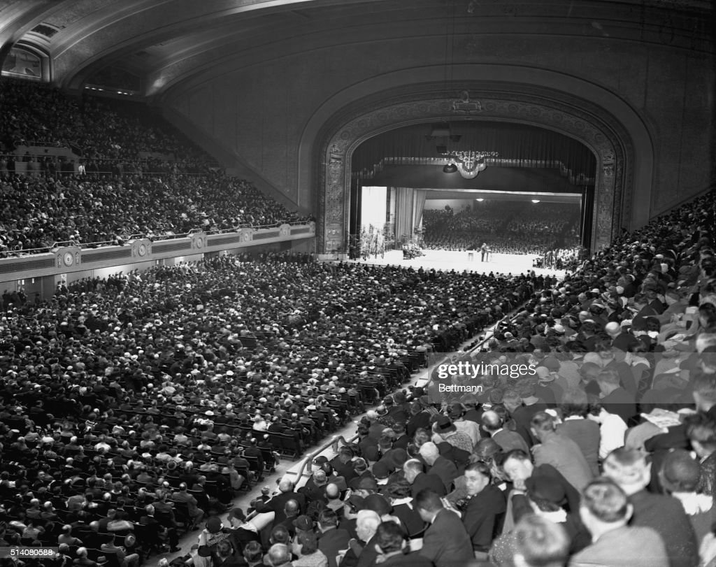 Over 26000 people tuned in to hear the speech given by Reverend Charles E Coughlin in Cleveland He spoke of President Roosevelt as the Financial...